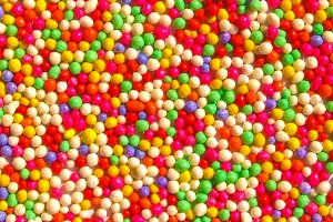 Coloured sugar background