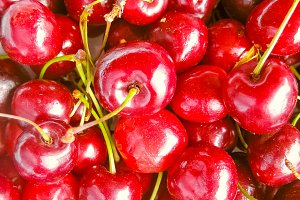 cherry fruit food background