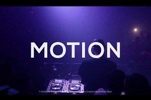 Creative Motion Titles