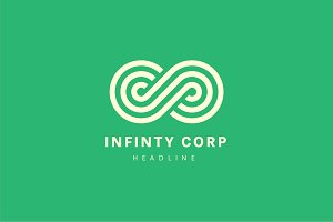 Infinity corp logo.