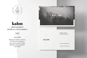 Kalon - Business Card Template