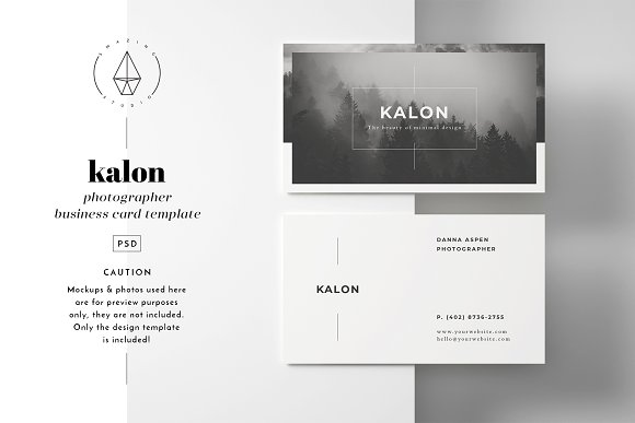 Kalon business card template business card templates creative kalon business card template business cards wajeb Images