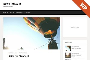 New Standard - WordPress Theme
