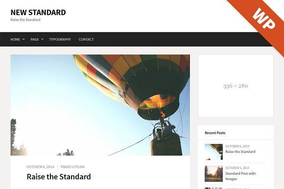 New Standard - WordPress Theme
