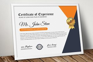 Word Format Certificate Template