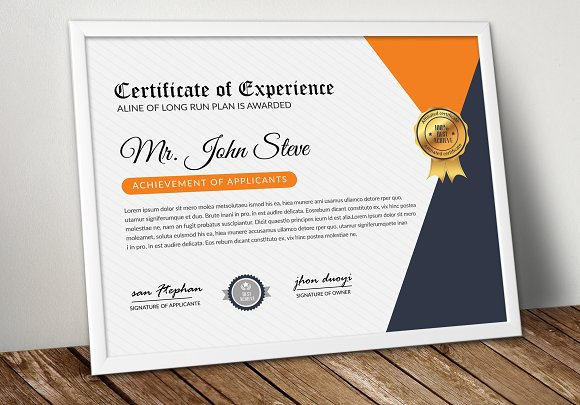Word Format Certificate Template Stationery Templates Creative