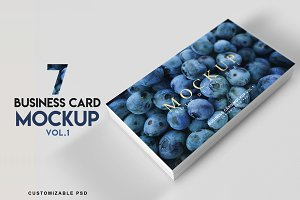 Business Card Mockup Vol 1