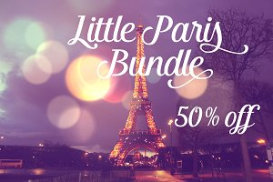 Little Paris Bundle (8 Photos)