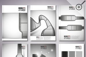 Brochure with film strips