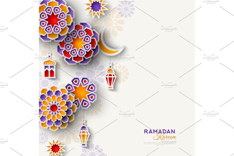 ramadan kareem vertical border  illustrations  creative