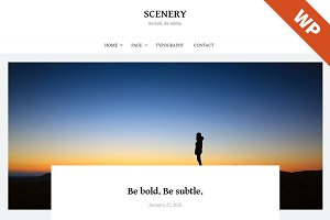 Scenery - WordPress Theme