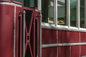 Old tram car