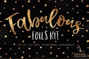 Fabulous Foils Kit - 130 Textures