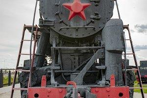 Ancient locomotive