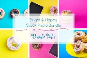 Bright & Happy Donuts Vol. 1