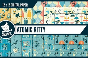 1950s Atomic Kitty