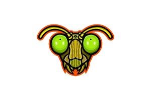 Praying Mantis Mascot