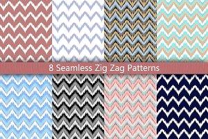 8 Zig Zag Seamless Set