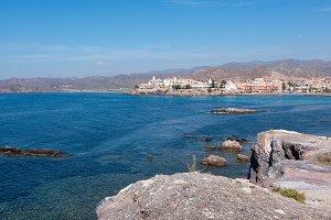 The sea in Calabardina