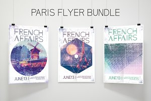 Paris Flyer Bundle French Connection