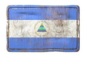 Nicaragua old flag