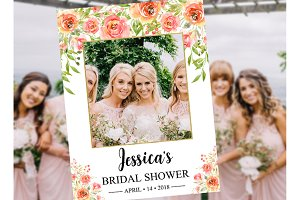 Bridal Shower Photo Booth Frame
