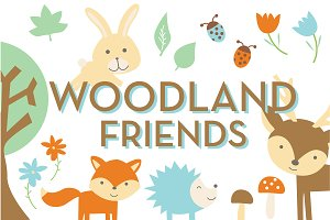 Woodland Friends Pack