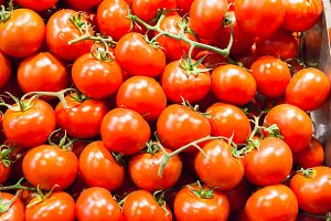 Many red tomatoes