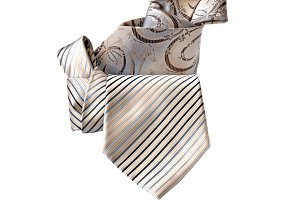 Two folded tie
