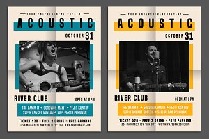 Acoustic Show Flyer
