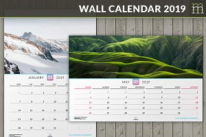 Wall Calendar 2019 (WC014-19)