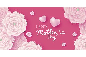 Mother's day card design