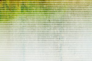 Horizontal interlaced glass texture of hotbed background