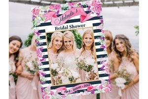 Bridal Shower Photo Prop Flowers