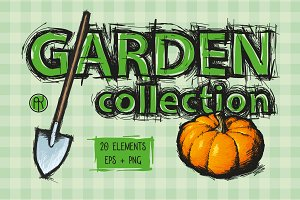 Garden Illustration Collection