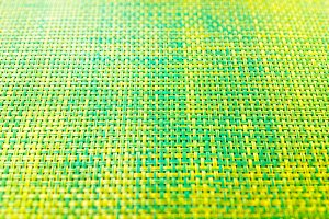 Green and yellow cafe matting texture background