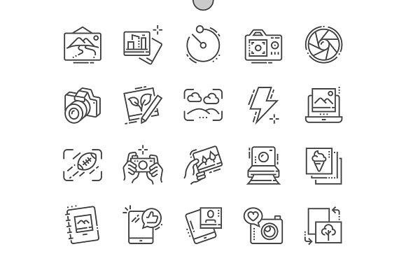 Photo Line Icons