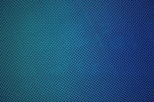 LED screen gradient blue green