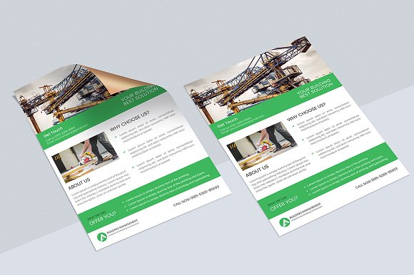 Construction Flyer  in Flyer Templates
