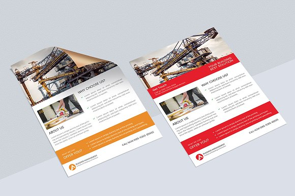 Construction Flyer  in Flyer Templates - product preview 1