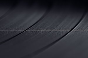 vinyl records macro background