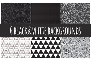 Black & white backgrounds