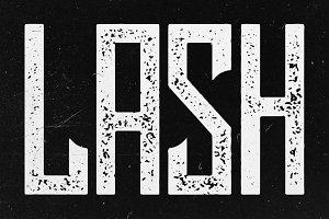 Lash Typeface