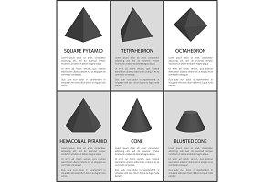 Square Pyramid Tetrahedron Octahedron Hexagonal