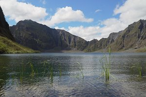 Crater Lake Pinatubo, Philippines, Luzon.