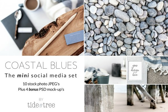 Coastal Blues Mini Set