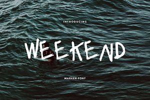 Weekend — Font