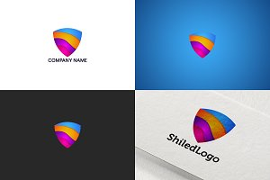 Shiled logo design