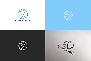 Line logo design