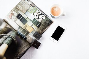 Styled Stock Brand Photo Coffee Desk
